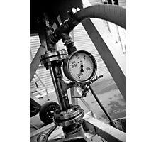 Gauging Pressure Photographic Print