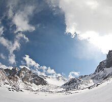 Sky and mountains by sergeylukianov
