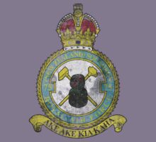 75(NZ) Squadron RAF Full Colour crest VINTAGE T-Shirt