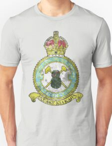 75(NZ) Squadron RAF Full Colour crest VINTAGE Unisex T-Shirt