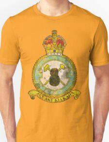 75(NZ) Squadron RAF Full Colour crest VINTAGE Unisex T-Shirt