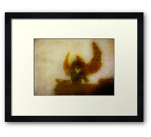 Shogun Warrior Framed Print