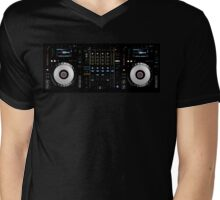 CDJ Mens V-Neck T-Shirt