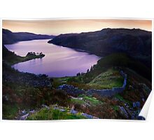 Haweswater from Swine Crag Poster