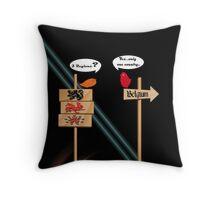 Belgie,Belgique,Belgien.... Throw Pillow