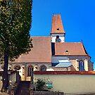 The village church of Hirschbach by Patrick Jobst