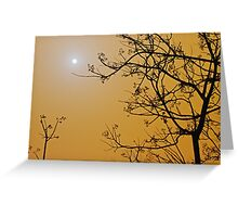 Queensland dust storm Greeting Card
