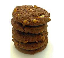 choc chip cookies Photographic Print