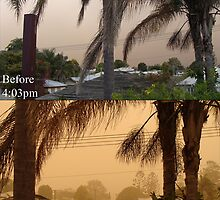 Dust storm!, Before and After by R-evolution GFX