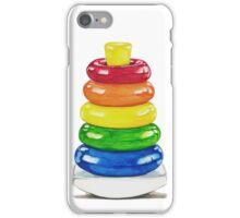Retro stacking rings. iPhone Case/Skin