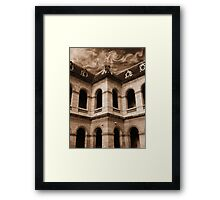 Paris - View from the Invalides Inner Courtyard Framed Print