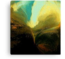 wild sky..... wide valley Canvas Print