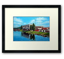 Nottingham reflections - Trent Bridge IIII Framed Print
