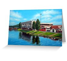 Nottingham reflections - Trent Bridge IIII Greeting Card