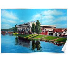 Nottingham reflections - Trent Bridge IIII Poster