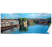 Nottingham reflections - Trent Bridge III Poster