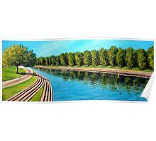 Nottingham reflections - Trent Bridge Poster