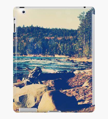 Rocky Shores of Lake Superior iPad Case/Skin