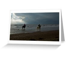 10 BEACH RUN CALENDAR Greeting Card