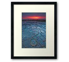 Precious pools Framed Print