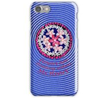 Flowers Floating From My Heart iPhone Case/Skin