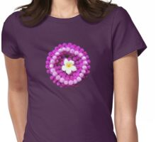 Flowers Floating From My Heart Womens Fitted T-Shirt