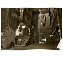 Mont St. Michel; the inside....... Poster