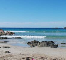 Kangaroo Island Beach Scene Sticker