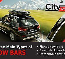 Three Main Types of Tow Bars by citytowbars