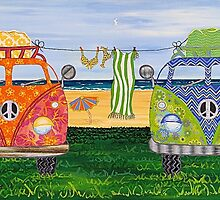 Kombi Camp no. 1 by Lisafrancesjudd
