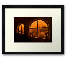 Dust Storm Framed Print