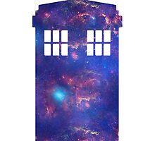 Galaxy Tardis by hocapontas