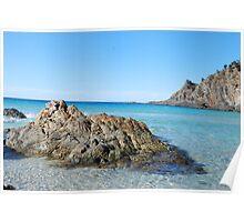 Kangaroo Island Beach Scene Poster