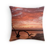 Nudgee Beach 1 Throw Pillow