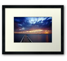 After The Dust Has Settled Framed Print