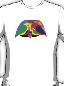 Colourful parrots T-Shirt