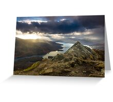 Loch Katrine from Ben A'an Greeting Card