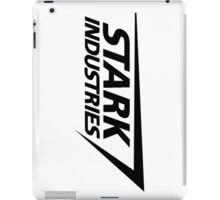 Stark Industries-Black iPad Case/Skin