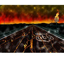 Route 666 Photographic Print