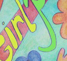 Girl Power for Girls Sticker