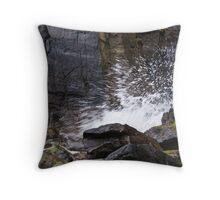 Exploding Wave Throw Pillow