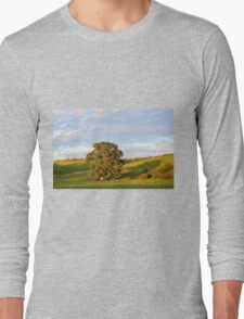 English Countryside In Somerset Long Sleeve T-Shirt