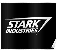 Stark Industries-White Poster