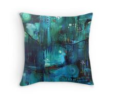 South Hobart Rivulet Throw Pillow