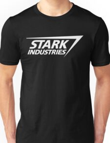 Stark Industries-White Unisex T-Shirt