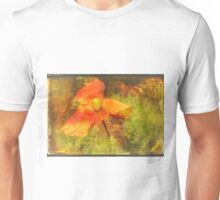 "Poppy (from the  ""Painted Flowers"" series) Unisex T-Shirt"