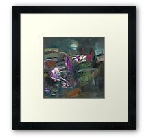 May. lilac sketch Framed Print