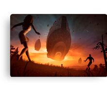 Invasion Canvas Print