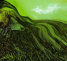 tribute in green.... abstract vision by banrai