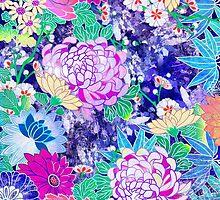 Oriental flowers by Elmira Amirova